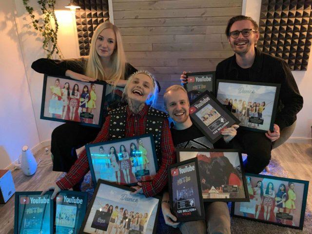 EKKO Music Rights congratulate Moonshine, Ellen & Cazzi