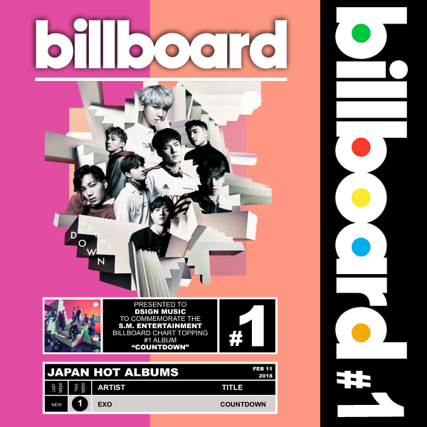 Billboard: EXO - Countdown