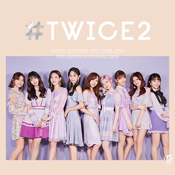 TWICE - #TWICE2 (Japanese cover)