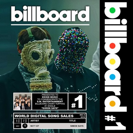 Billboard: NCT 127 #1 on World Digital Song Sales – EKKO Music