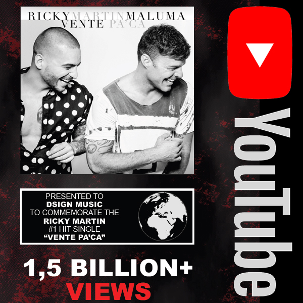 Youtube: Ricky Martin ft. Maluma - Vente Pa'Ca