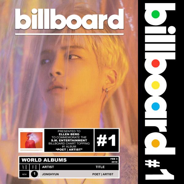 Billboard: Jonghyun - Poet|Artist