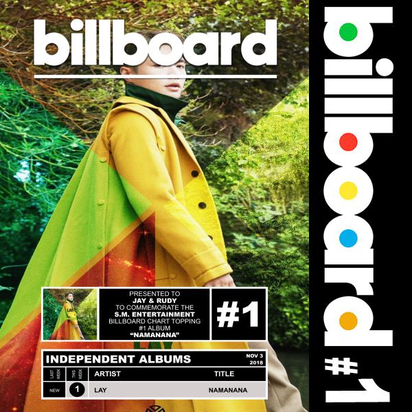 Billboard: Lay - Namanana