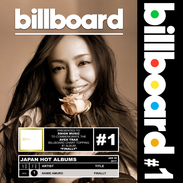 Billboard: Namie Amuro - Finally