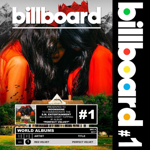 Billboard: Red Velvet - Perfect Velvet