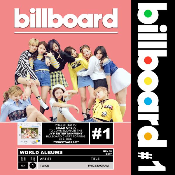 Billboard: TWICE - Twicestagram