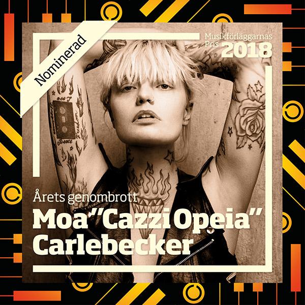 Nominated: Cazzi Opeia - Musikforleggerprisen 2018
